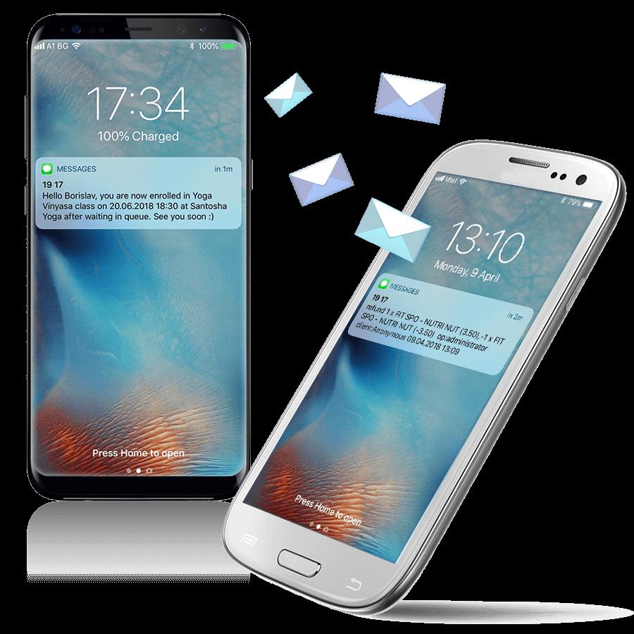 СМС маркетинг с Fitsys - софтуер за оналйн резервации и управление на бизнеса